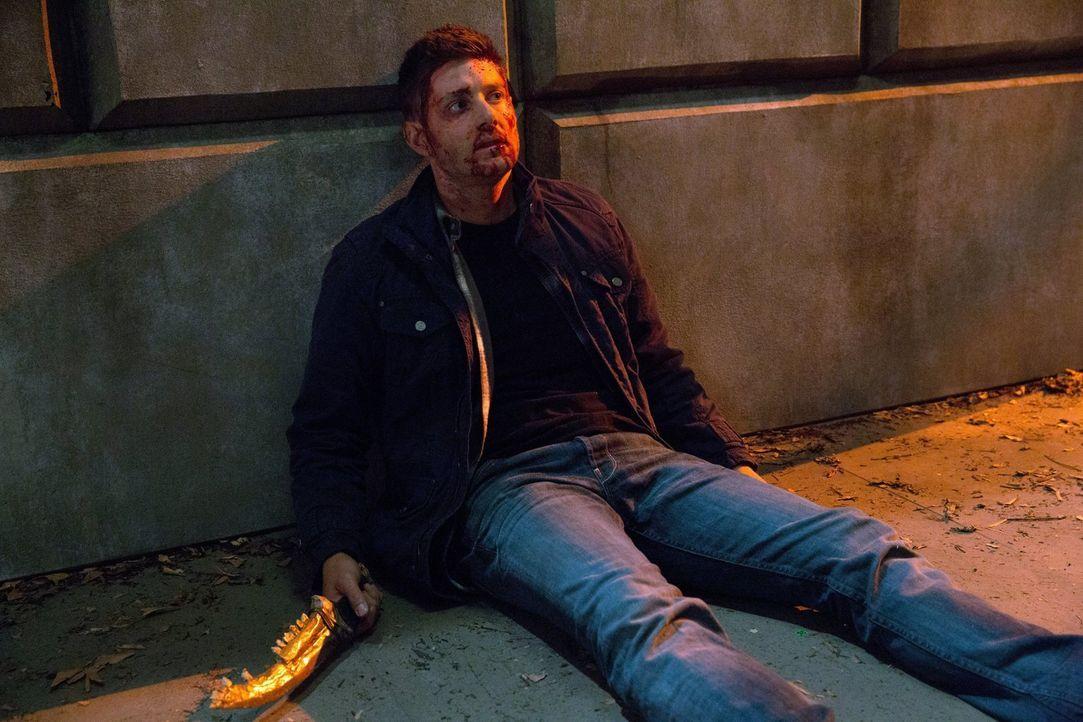 Selbst Dean (Jensen Ackles) kann die unglaublichen Auswirkungen der Klinge nicht mehr leugnen ... - Bildquelle: 2013 Warner Brothers