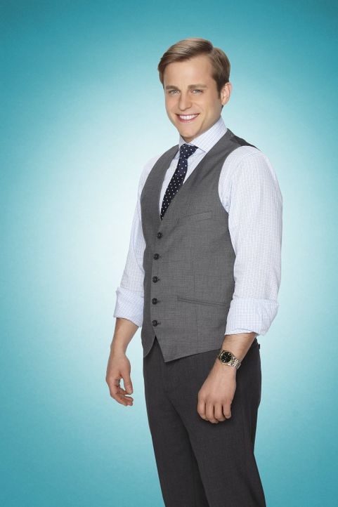 (1. Staffel) - Verliebt er sich in Kimmie oder bleibt das nur ihr Wunschdenken? Der charmante und gutaussehende Anwalt Richard Lovell (Kevin Bishop)... - Bildquelle: Warner Brothers