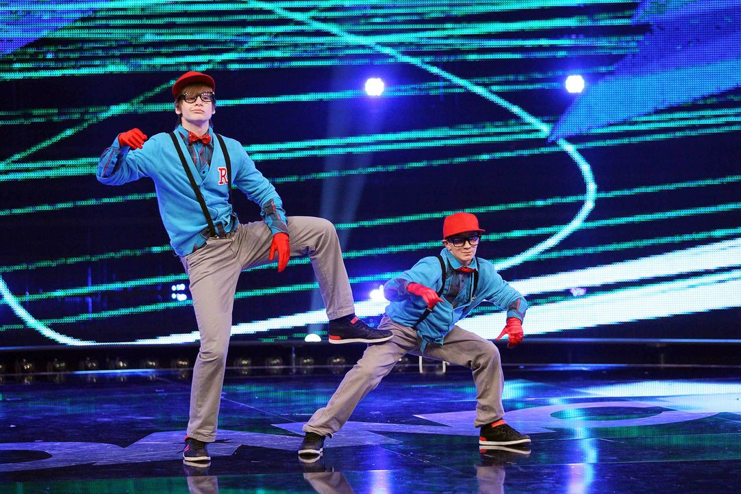 Got-To-Dance-Ricardo-und-Janik-11-SAT1-ProSieben-Guido-Engels - Bildquelle: SAT.1/ProSieben/Guido Engels