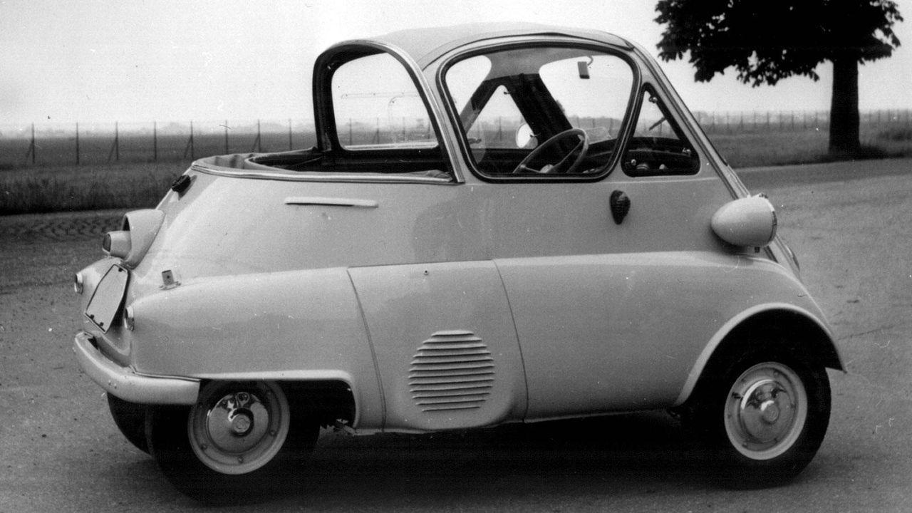 BMW Isetta als Cabrio - Bildquelle: BMW / dpa