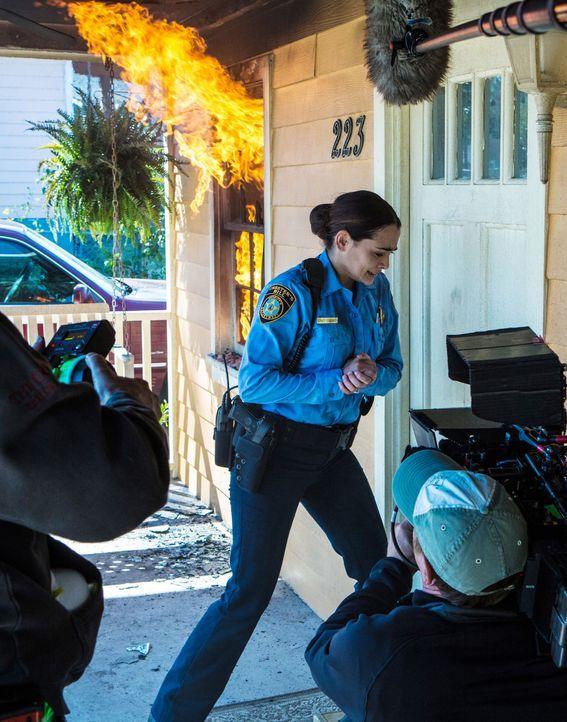 Under The Dome - Behind The Scenes - Bild vom Set der Serie6 - Bildquelle: CBS Television