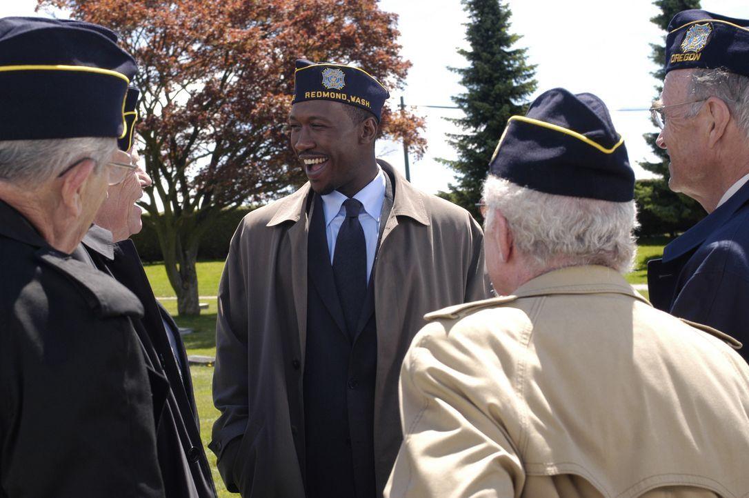 Wiedersehens-Feier mit Kameraden aus dem Koreakrieg: Richard (Mahershalalhashbaz Ali, M.) ... - Bildquelle: Viacom Productions Inc.