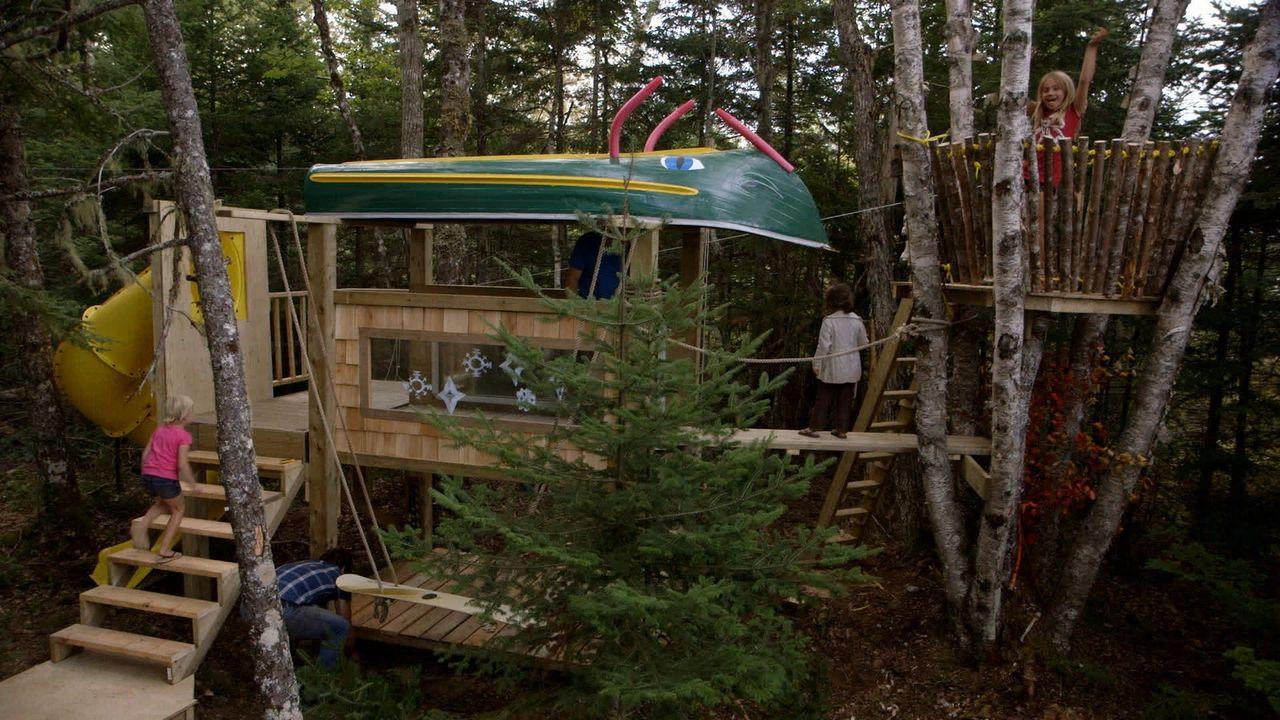 Ein neues Projekt, um ihre Kinder glücklich zu machen, wartet auf die Brüder Kevin und Andrew ... - Bildquelle: Brojects Ontario Ltd./Brojects NS Ltd