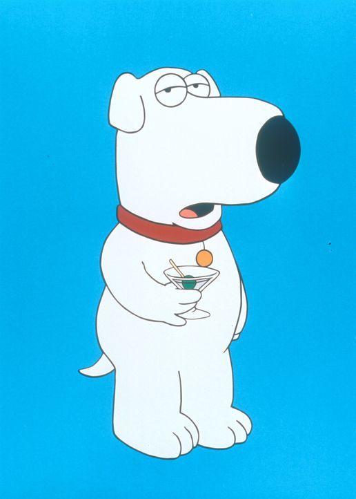 (2. Staffel) - Brian, der Hund: Er ist unbestritten das eloquenteste Mitglied des Griffin-Haushaltes und der einzige, der im täglichen Durcheinander... - Bildquelle: TM +   1998 Twentieth Century Fox Film Corp. All Rights Reserved.
