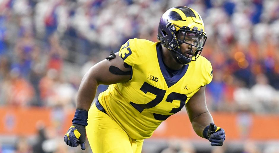 Maurice Hurst (Defensive Tackle, Michigan) - Bildquelle: imago/ZUMA Press