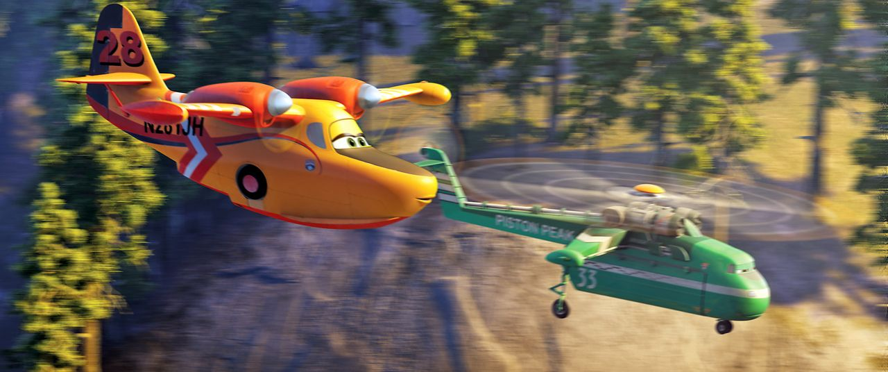Planes-2-Immer-im-Einsatz-04-Walt-Disney - Bildquelle: 2014 Disney Enterprises, Inc. All Rights Reserved.