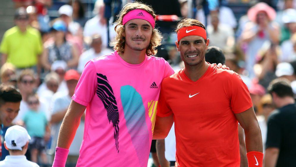 Nadal (r.) siegte im Duell der Generationen - Bildquelle: GETTY IMAGES NORTH AMERICAGETTY IMAGES NORTH AMERICASIDVaughn Ridley