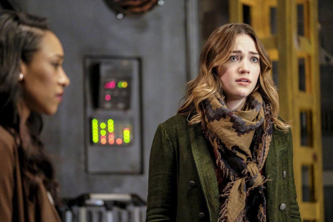 Jesse (Violett Beane) muss erschrocken feststellen, dass Savitar mehr Macht über Wally hat, als alle gedacht hatten ... - Bildquelle: 2016 Warner Bros.