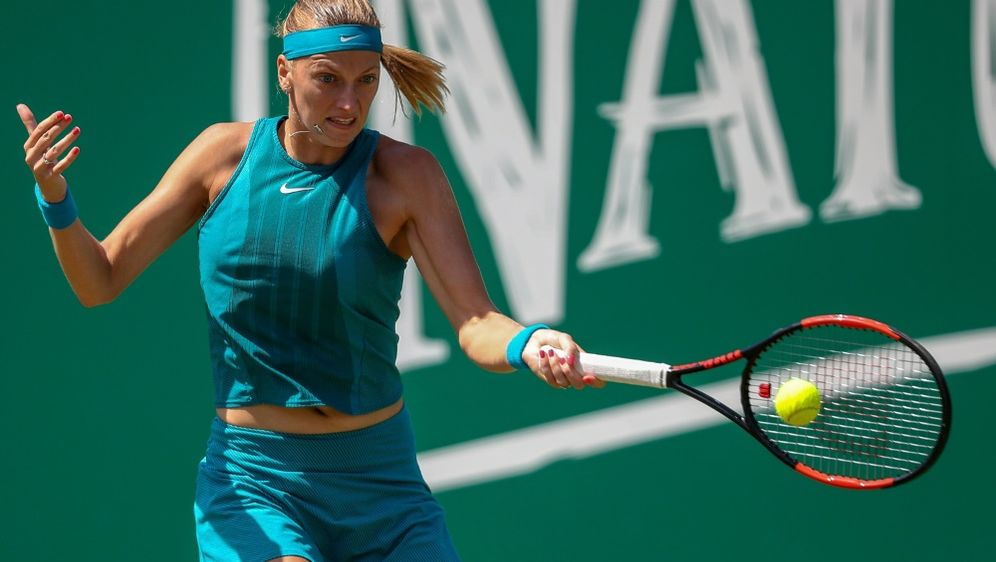 Kvitova gewann das Finale nach Satzrückstand - Bildquelle: PIXATHLONPIXATHLONSID