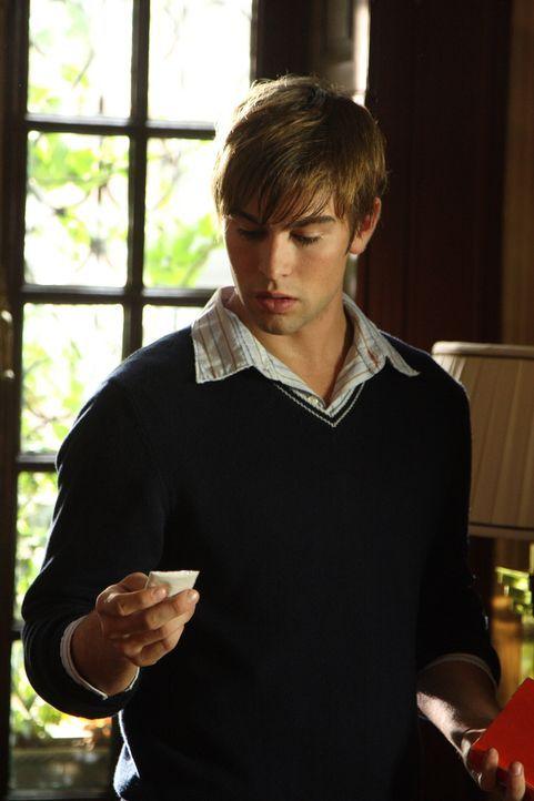 Ein Maskenball steht kurz vor der Tür: Nate (Chace Crawford) soll dort von Blair eine Überraschung erhalten ... - Bildquelle: Warner Brothers