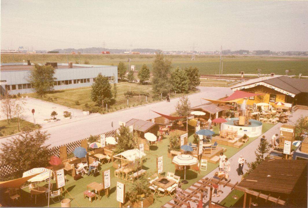 IKEA Eching 1974 Aussenbereich 2
