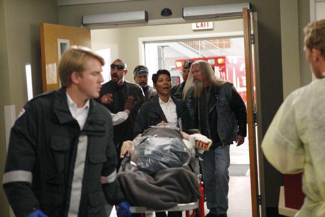 Das Seattle Grace Hospital wird nach einem schrecklichen Unfall von einer Horde Biker überschwemmt ... - Bildquelle: ABC Studios