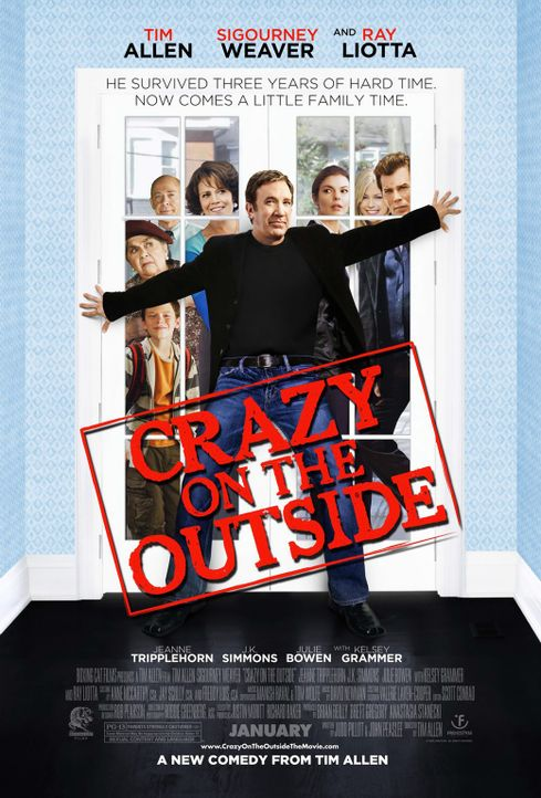 Crazy on the Outside - Plakat - Bildquelle: 2008 Crazy Inc. / Boxing Cat Ent.