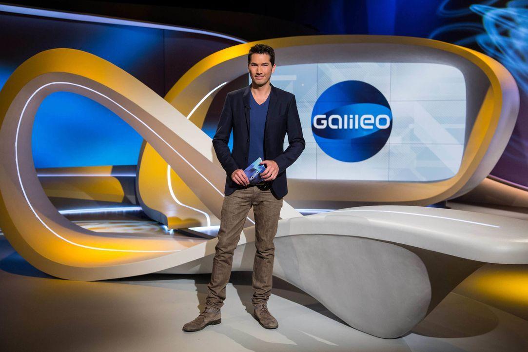 """""""Galileo"""" das Wissensmagazin wird von Stefan Gödde präsentiert. - Bildquelle: Benedikt Müller ProSieben"""