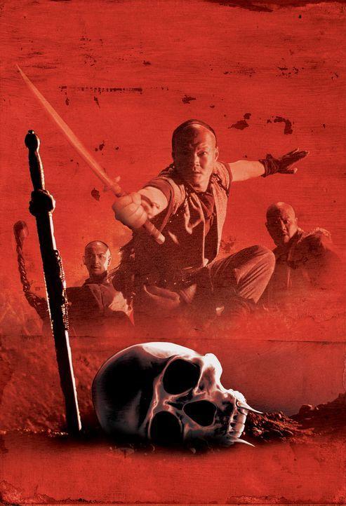 Im China des 19. Jahrhunderts schreckt ein böser Mönch ein Nest blutrünstiger Vampire auf, die alles menschliche Leben verschlingen wollen. Vier... - Bildquelle: Columbia TriStar