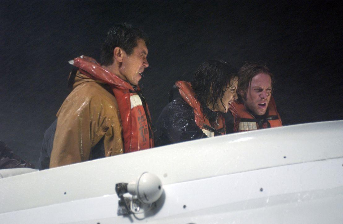 Bruce' (Michael Rodgers) Beobachtungen lassen ihn zu dem Schluss kommen, dass die Navy sich irrt und das Falsche tun wird. Damit würde alles aufhö... - Bildquelle: The Sci-Fi Channel