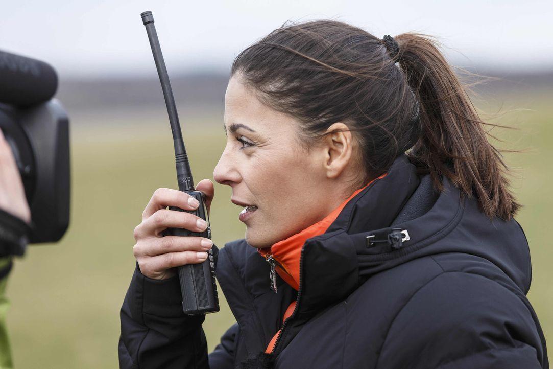 Um die Schallmauer zu durchbrechen, testet Moderatorin Funda Vanroy (Foto) die vier beliebtesten deutschen Ballsportarten auf ihr Speed-Potential: G... - Bildquelle: ProSieben MAXX