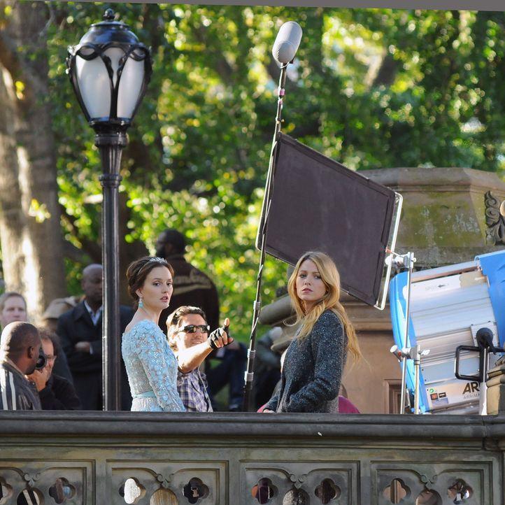 Blair und Serena auf der Hochzeit - Bildquelle: WENN