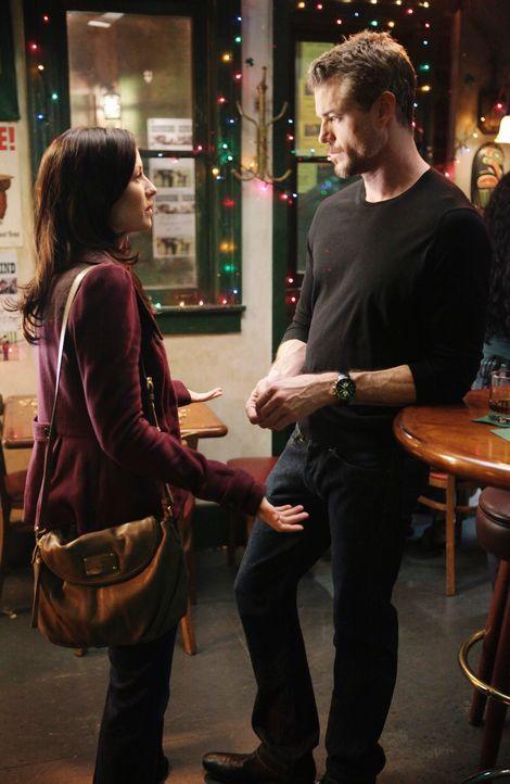 Mark (Eric Dane, r.) versucht, Lexie (Chyler Leigh, l.) langsam wieder näher zu kommen und sagt ihr sogar, dass er sie vermisst. Doch was wird sie d... - Bildquelle: ABC Studios