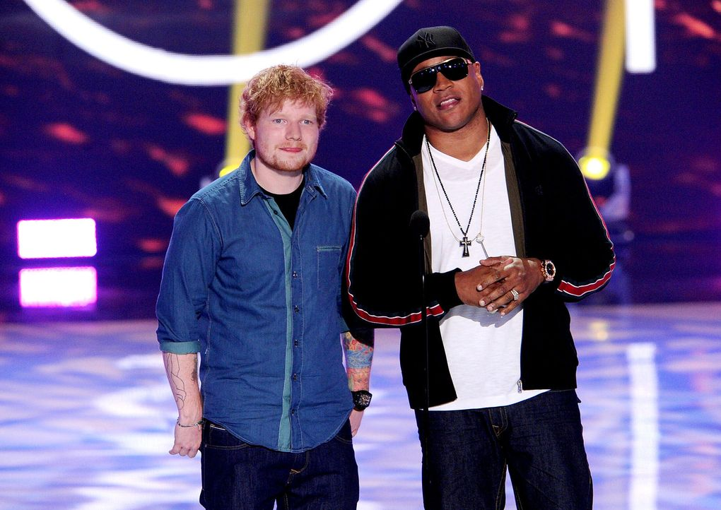 Teen-Choice-Awards-Ed-Sheeran-LL-Cool-J-13-08-11-getty-AFP.jpg 1800 x 1274 - Bildquelle: getty-AFP