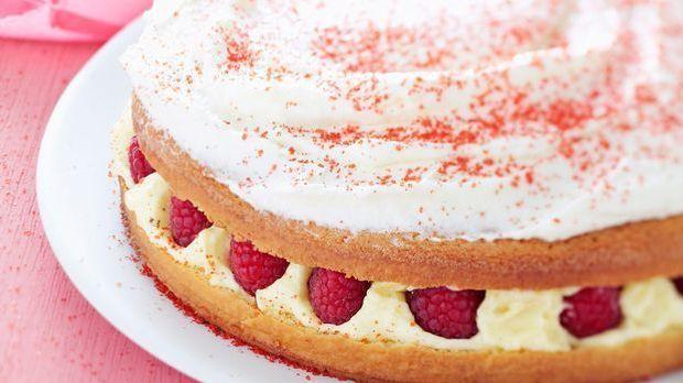 Backrezept: Himbeertorte zum Dessert