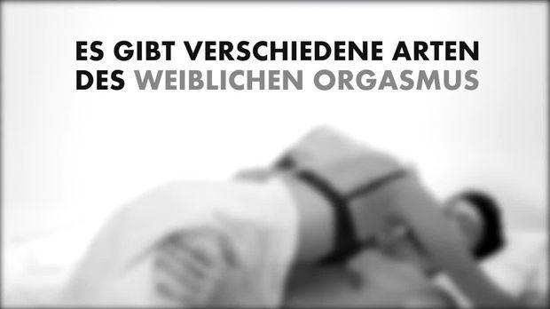 Aufzeichnung des weiblichen Orgasmus