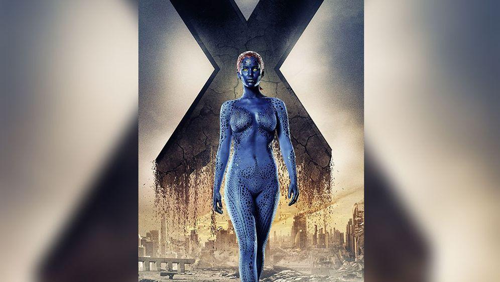 Jennifer lawrence mystique of the xmen first class - 1 part 5