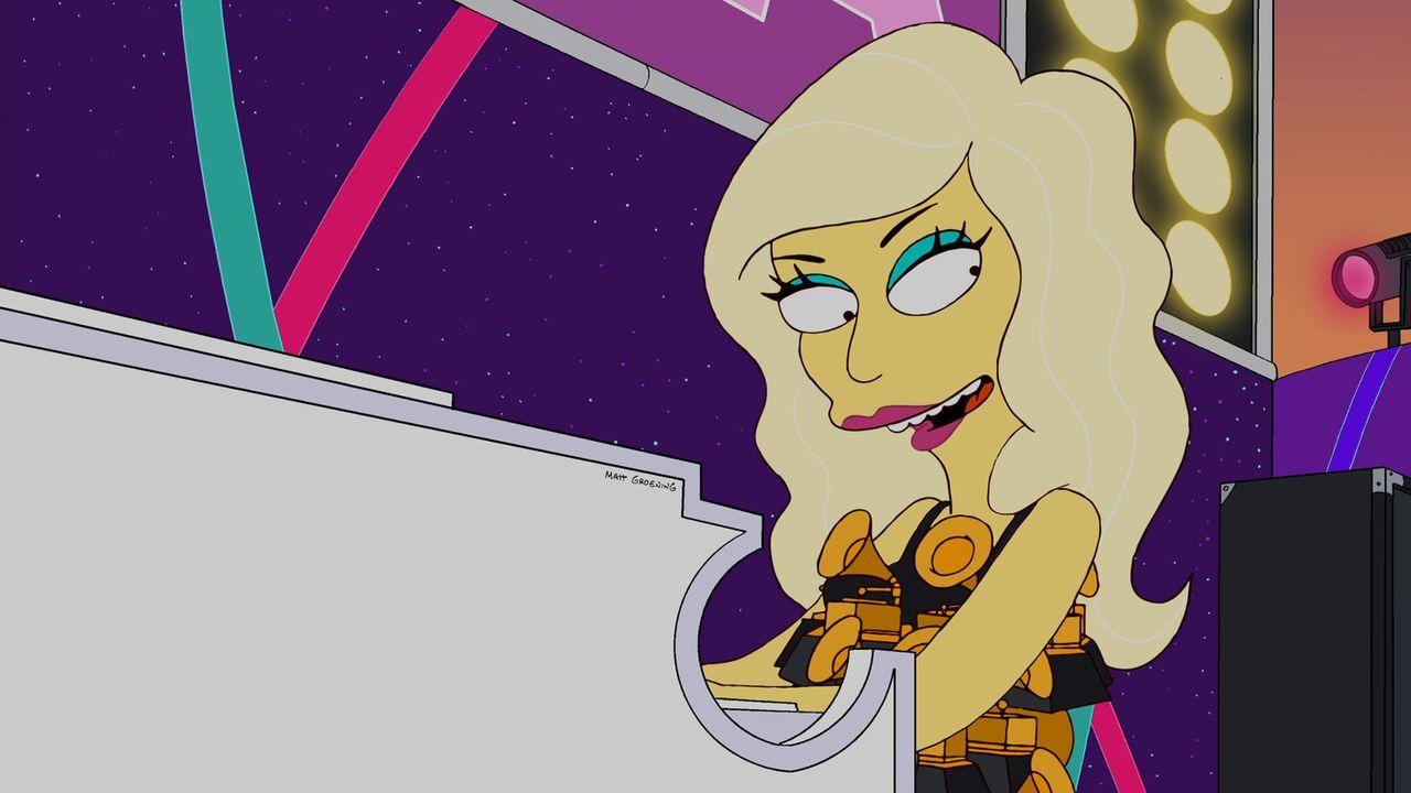 Versucht alles, um Lisa aufzuheitern: Lady Gaga ... - Bildquelle: und TM Twentieth Century Fox Film Corporation - Alle Rechte vorbehalten