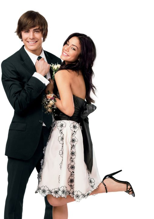 Troy (Zac Efron, l.) und Gabriella (Vanessa Anne Hudgens, r.) wollen beide auf die Universität gehen, werden aber unterschiedliche Lehranstalten be... - Bildquelle: Disney Enterprises, Inc.  All rights reserved.