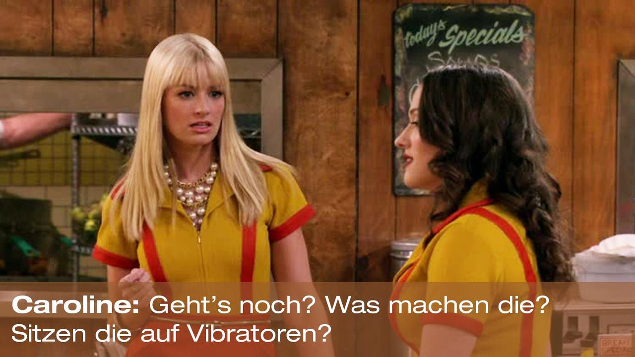 2-broke-girls-zitat-quote-staffel2-episode6-suesse-versuchung-caroline-vibratoren-warnerpng 1600 x 900 - Bildquelle: Warner Brothers Entertainment Inc.