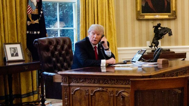 Trump im Oval Office