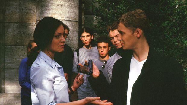 Schon an seinem ersten Schultag bedroht der Neuzugang Ben (Matthias Schweighö...