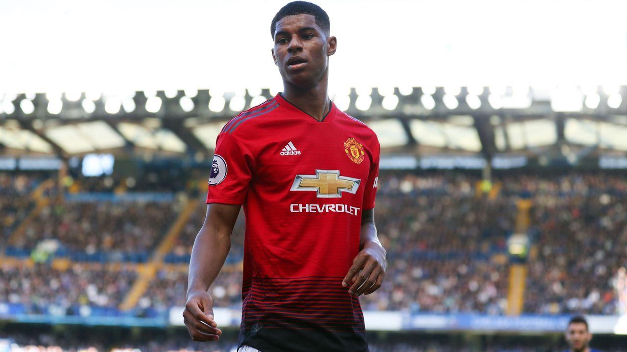 Marcus Rashford (Manchester United) - Bildquelle: 2018 Getty Images