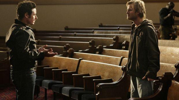 Buck Winters (David Gallagher, r.), der Geliebte von Crystal Hoyle, die Don (...