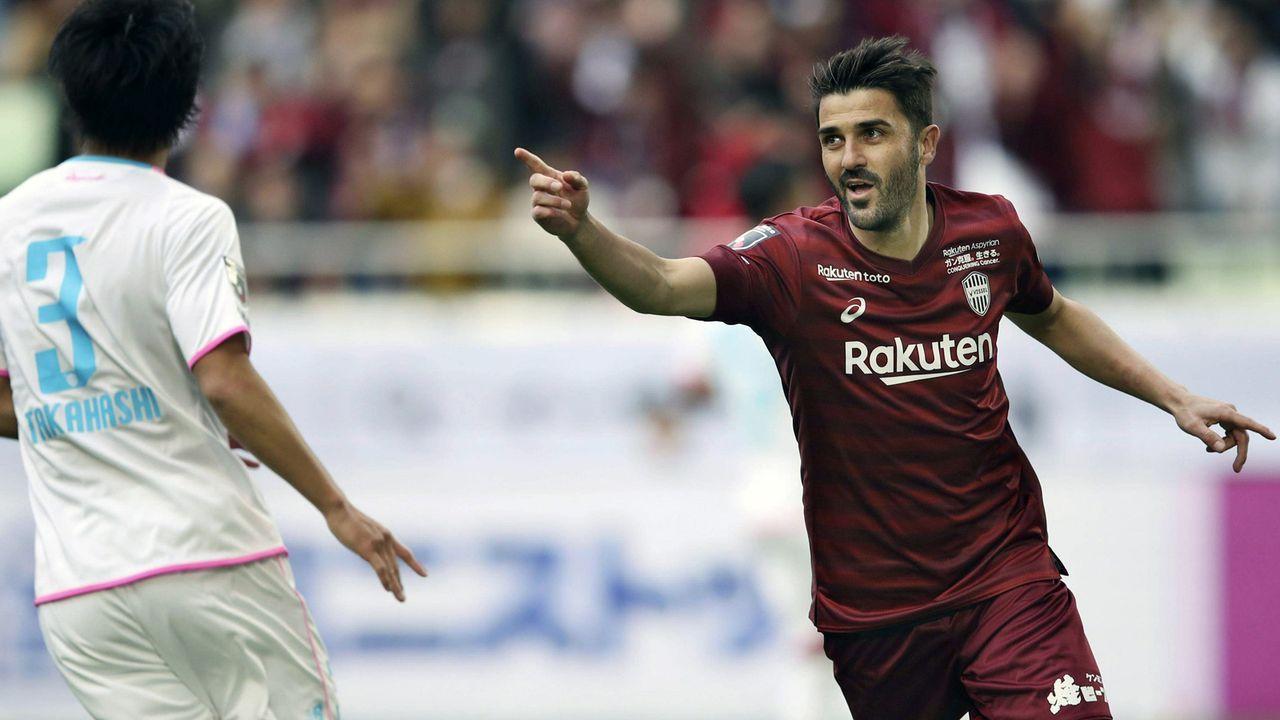 David Villa (Vissel Kobe) - Bildquelle: imago images / Kyodo News