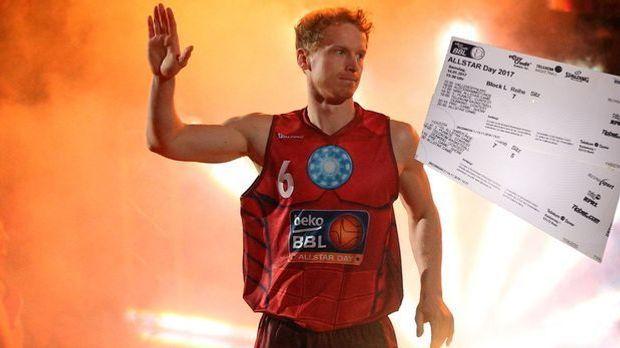 Basketball-Gewinnspiel: ALLSTAR Day 2017