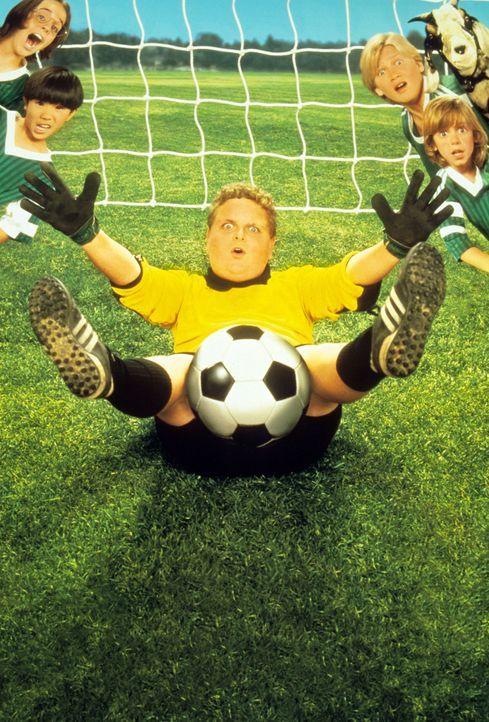 Zunächst kann Larry (Patrick Renna) dem Fußballspielen nichts abgewinnen, doch dann packt ihn der Ehrgeiz ... - Bildquelle: Walt Disney Pictures
