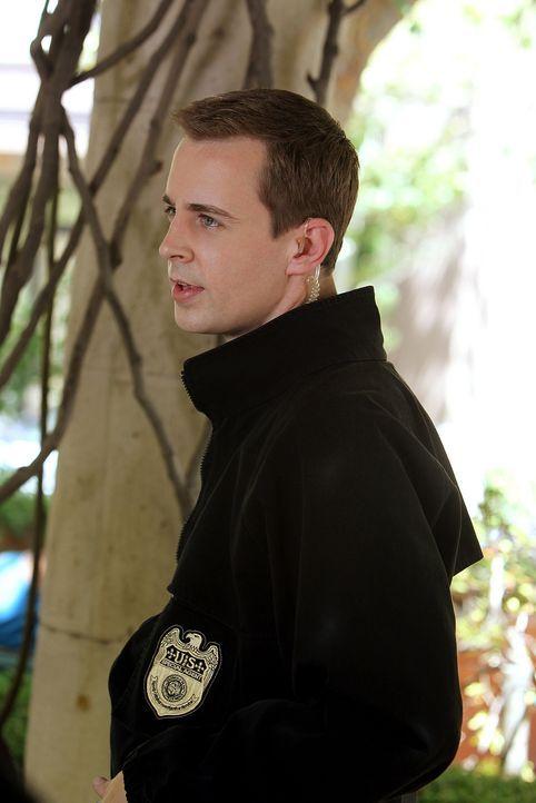 Bei den Ermittlungen: McGee (Sean Murray) ... - Bildquelle: CBS Television