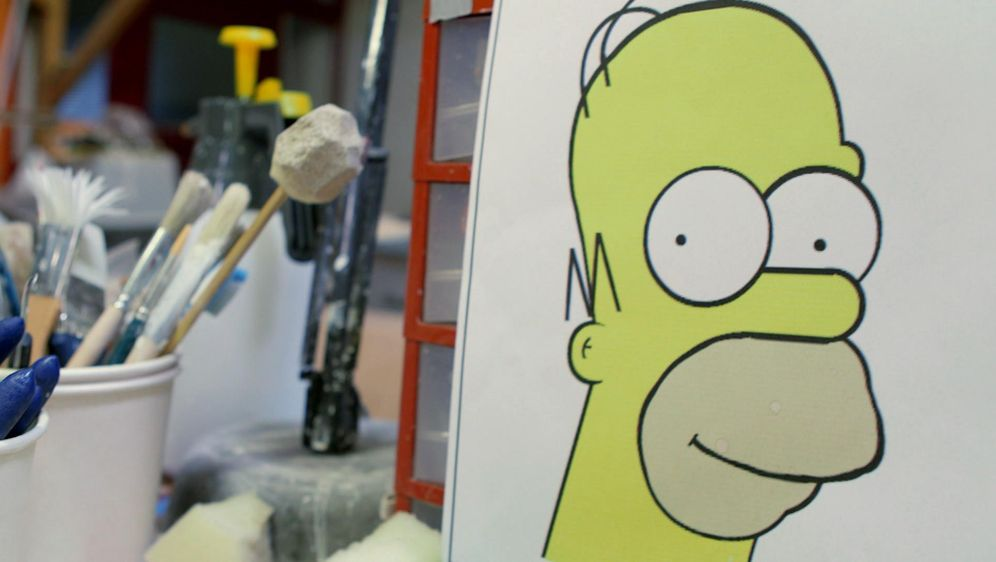 Verwandlung in Homer Simpson