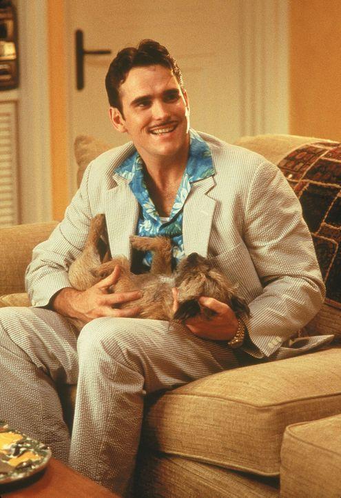 Privatdetektiv Pat Healy (Matt Dillon) hat eigentlich nur den Auftrag, die bezaubernde Mary ausfindig zu machen. Doch dann bekommt er selber Schmett... - Bildquelle: 1998 Twentieth Century Fox Film Corporation. All rights reserved.