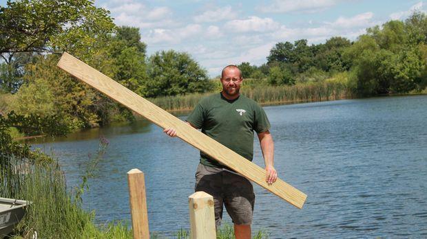 Für Herman Brother Nate und seine Crew steht ein riesen Baumhaus mit schwinge...