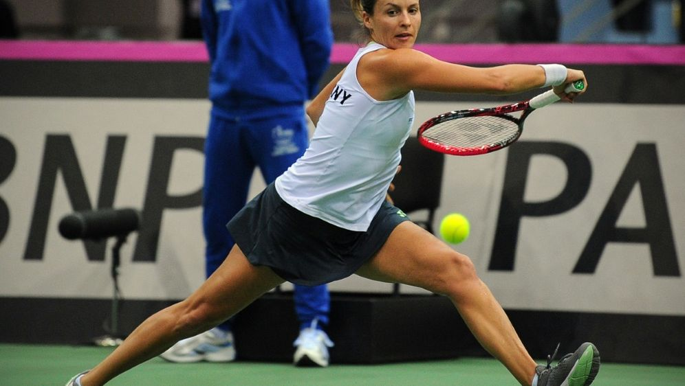 Tatjana Maria setzte sich gegen Lucie Safarova durch - Bildquelle: AFPSIDMAXIM MALINOVSKY