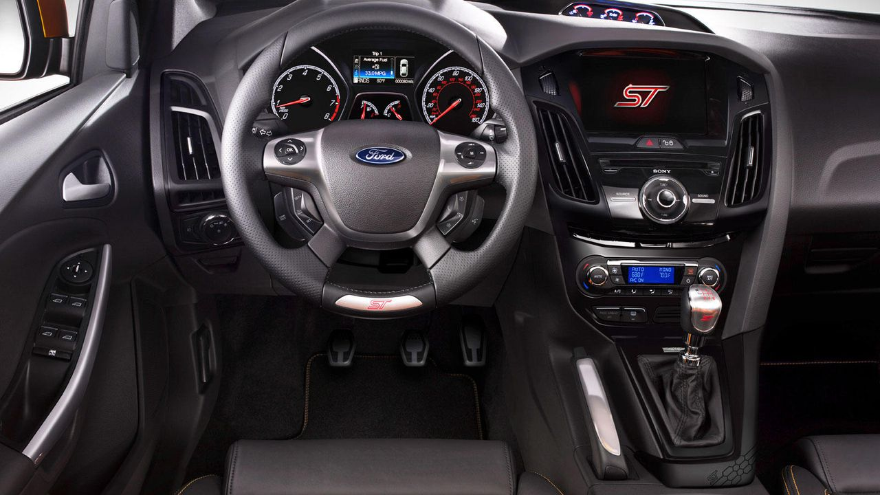 Die Sportversion des Ford Focus - Bildquelle: Ford