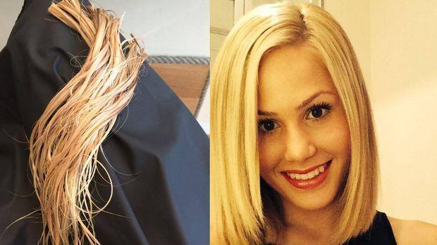 Der Bachelor 2014 Star Angelina Heger Glücklich Mit Neuer Frisur