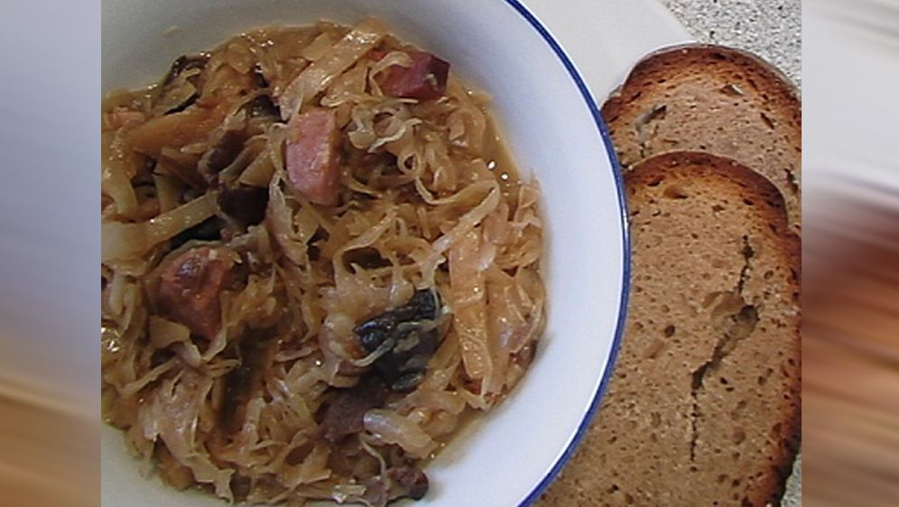 Bigos - polnischer Sauerkrauteintopf