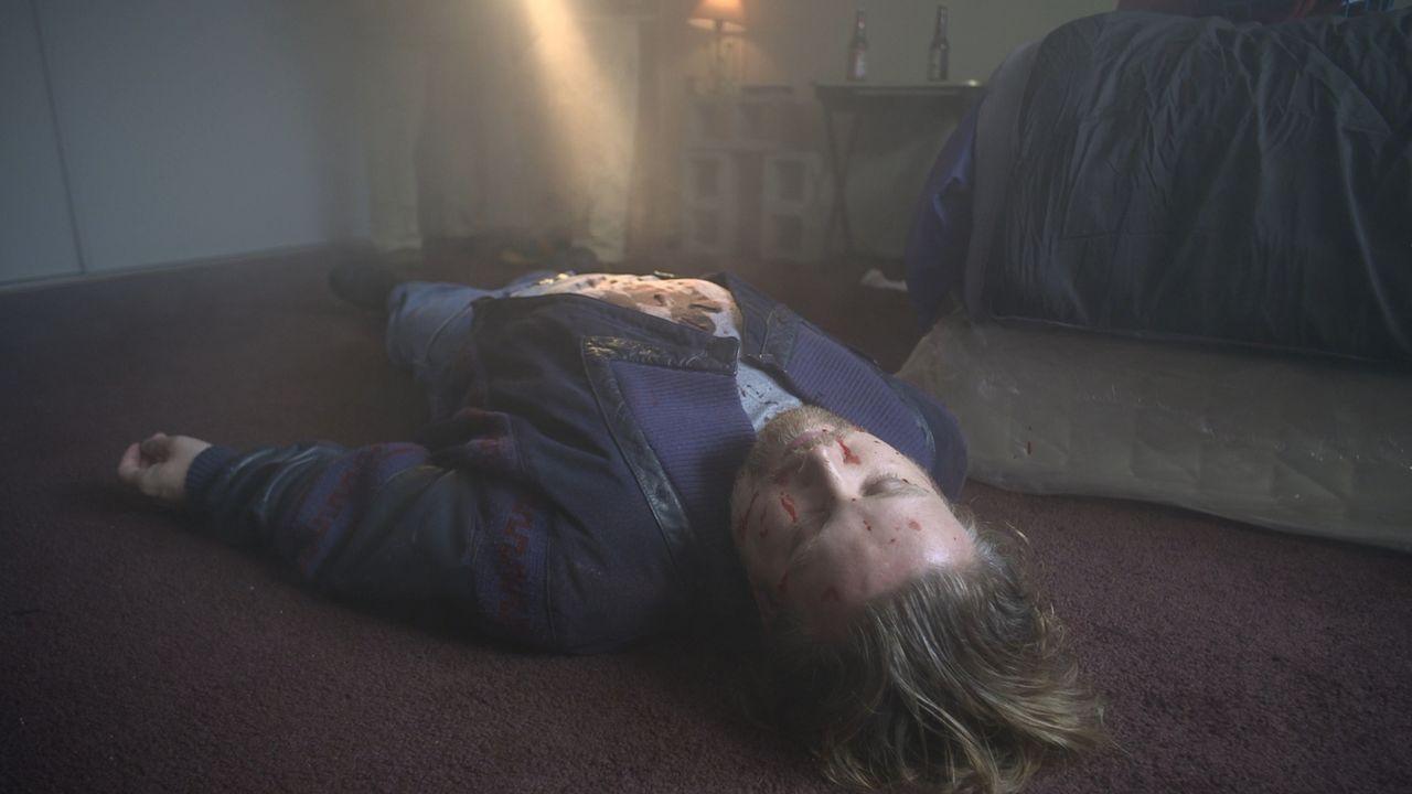 Viktor Wood wird in seiner Wohnung erstochen aufgefunden. Der Täter hat keine Spuren hinterlassen, doch er ist sehr kaltblütig und brutal vorgegange... - Bildquelle: Jupiter Entertainment