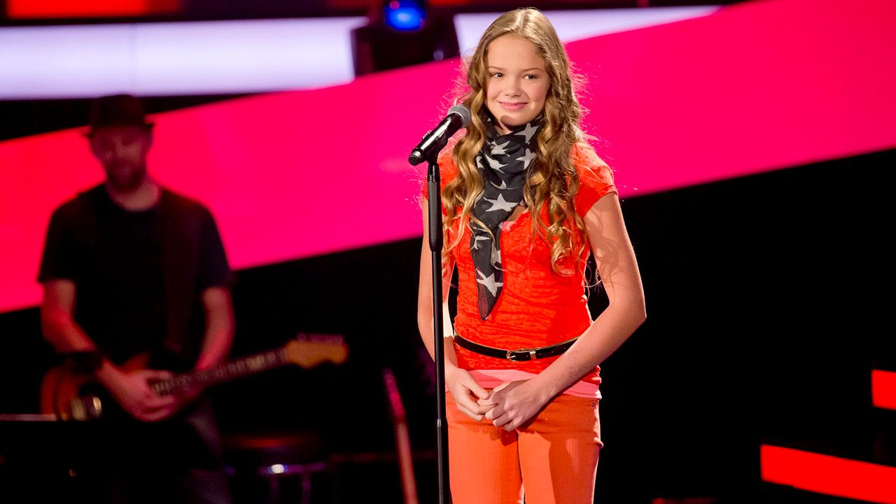 The-Voice-Kids-s01e03-LaraMarie-17 - Bildquelle: SAT.1/Richard Hübner