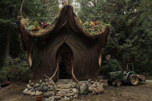 Ein komplettes Haus aus Baustoffen, die die Natur liefert: das Lehmhaus ... -...