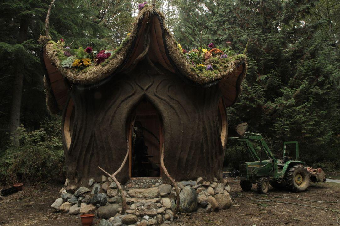 Ein komplettes Haus aus Baustoffen, die die Natur liefert: das Lehmhaus ... - Bildquelle: 2015,DIY Network/Scripps Networks, LLC. All Rights Reserved