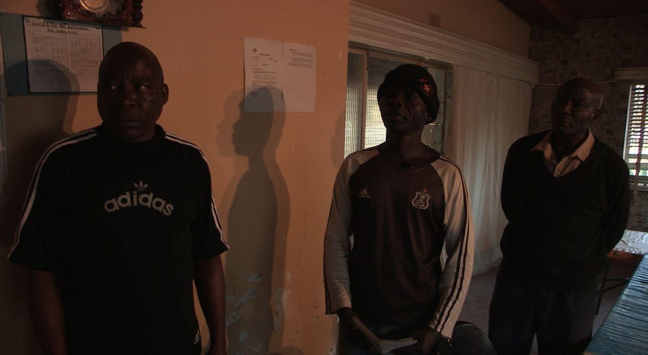 Einige ehemalige Mitglieder des Büffel-Bataillons arbeiten heute bei privaten Security-Firmen ... - Bildquelle: Ben Anderson Eyeline Entertainment